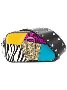 маленькая сумка Snapshot в стиле пэчворк Marc Jacobs