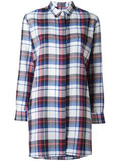удлиненная фланелевая рубашка  Golden Goose Deluxe Brand