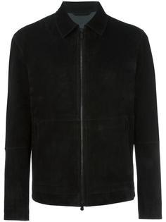 замшевая куртка на молнии Z Zegna