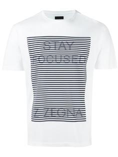 футболка с принтом Stay Focused Z Zegna