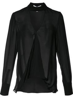 блузка с глубоким V-образным вырезом Derek Lam 10 Crosby