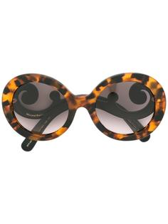 Minimal Baroque sunglasses Prada Eyewear