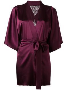 silk robe Fleur Of England