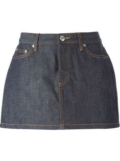 джинсовая мини-юбка A.P.C.