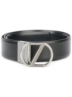 ремень с логотипом бренда Z Zegna