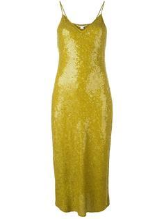 приталенное платье с пайетками Diane Von Furstenberg