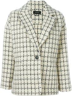 пиджак в клетку Mark Isabel Marant