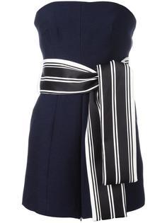 блузка без бретелей с поясом C/Meo