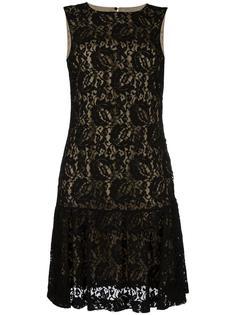 кружевное платье Moschino