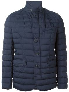 стеганая куртка на пуговицах Herno