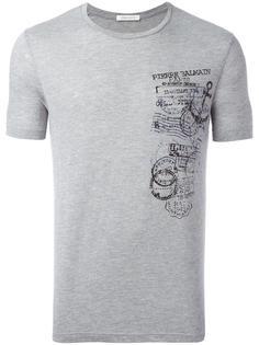 футболка с принтом Stamp Pierre Balmain