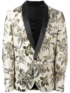 пиджак с цветочным рисунком Christian Pellizzari