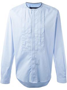 рубашка с плиссированной манишкой Christian Pellizzari
