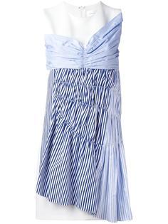 платье-шифт с полосатыми вставками Victoria Victoria Beckham