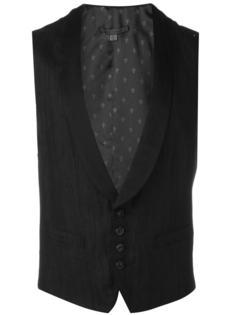 shawl lapel waistcoat John Varvatos