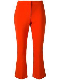 укороченные расклешенные брюки Theory
