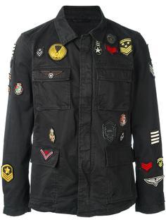 куртка в стиле милитари John Varvatos