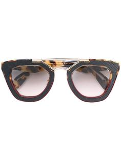 square shaped sunglasses Prada Eyewear