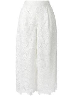 укороченные брюки из макраме Diane Von Furstenberg