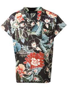 рубашка с цветочным рисунком Christian Pellizzari