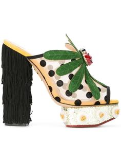 мюли Not-So-Secret-Garden Charlotte Olympia