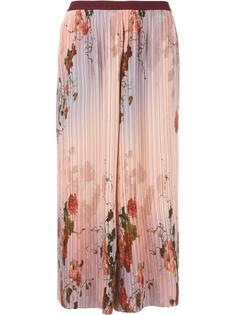 укороченные плиссированные брюки Antonio Marras