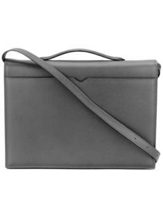 сумка-почтальонка с ручкой сверху Valextra