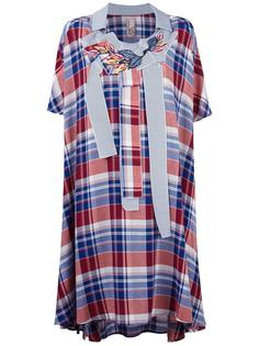 платье-рубашка свободного кроя Antonio Marras