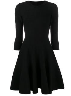 платье с вырезом-лодочкой Alaïa