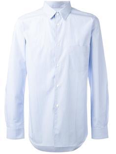 рубашка в тонкую полоску Comme Des Garçons Shirt