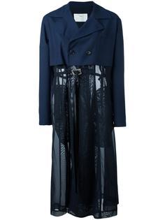 пальто с тюлевой юбкой Toga