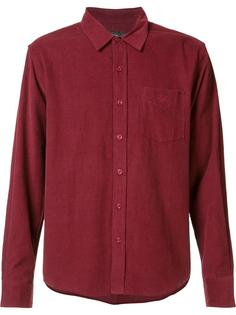 вельветовая рубашка Stussy