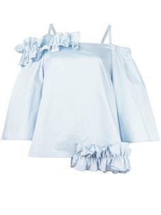 блузка с рюшами Paskal
