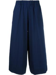 широкие укороченные брюки Antonio Marras