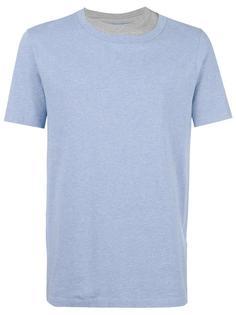футболка с многослойным эффектом Maison Margiela