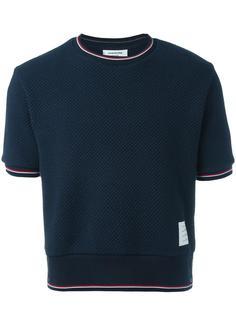 вязаная футболка Thom Browne