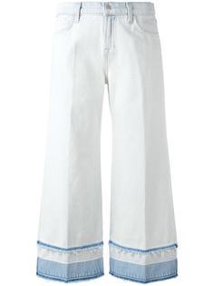 джинсы-кюлоты Liza средней посадки J Brand