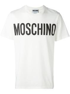 logo print T-shirt Moschino