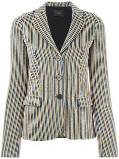 striped blazer Odeeh