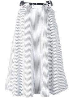 полосатая юбка с поясом Toga
