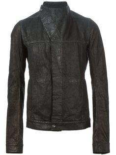 куртка с асимметричным воротником-воронкой Rick Owens DRKSHDW