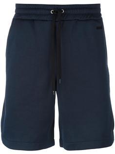 спортивные шорты с контрастной шнуровкой Ami Alexandre Mattiussi