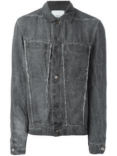 джинсовая куртка с бахромой Lost & Found Rooms
