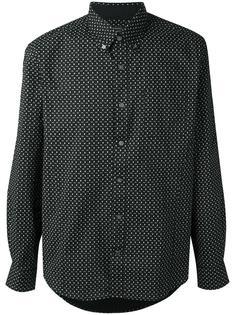 micro skull print shirt John Varvatos