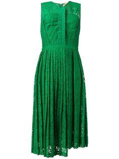 асимметричное кружевное платье Nº21