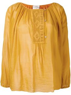 embroidered peasant blouse  Forte Forte