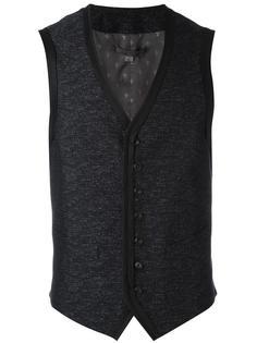 V-neck waistcoat John Varvatos