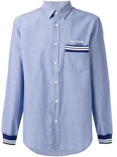 свободная рубашка с полосками Love Moschino