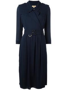 платье-рубашка с поясом Burberry