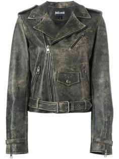 байкерская куртка Just Cavalli
